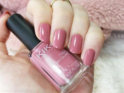 Kiko Nail Lacquer 375 Bois de Rose (5)